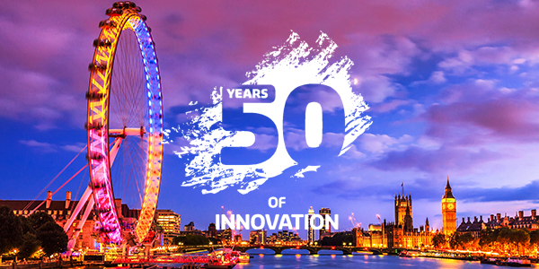 50 Years of Innovation celebration in London