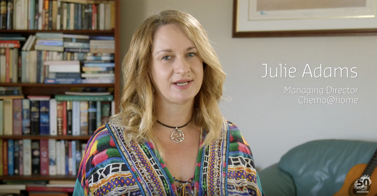 Watch Chemo@home: Julie Adams Curtin Alumni Innovator