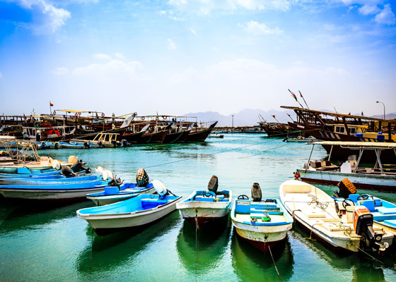 Port in Oman